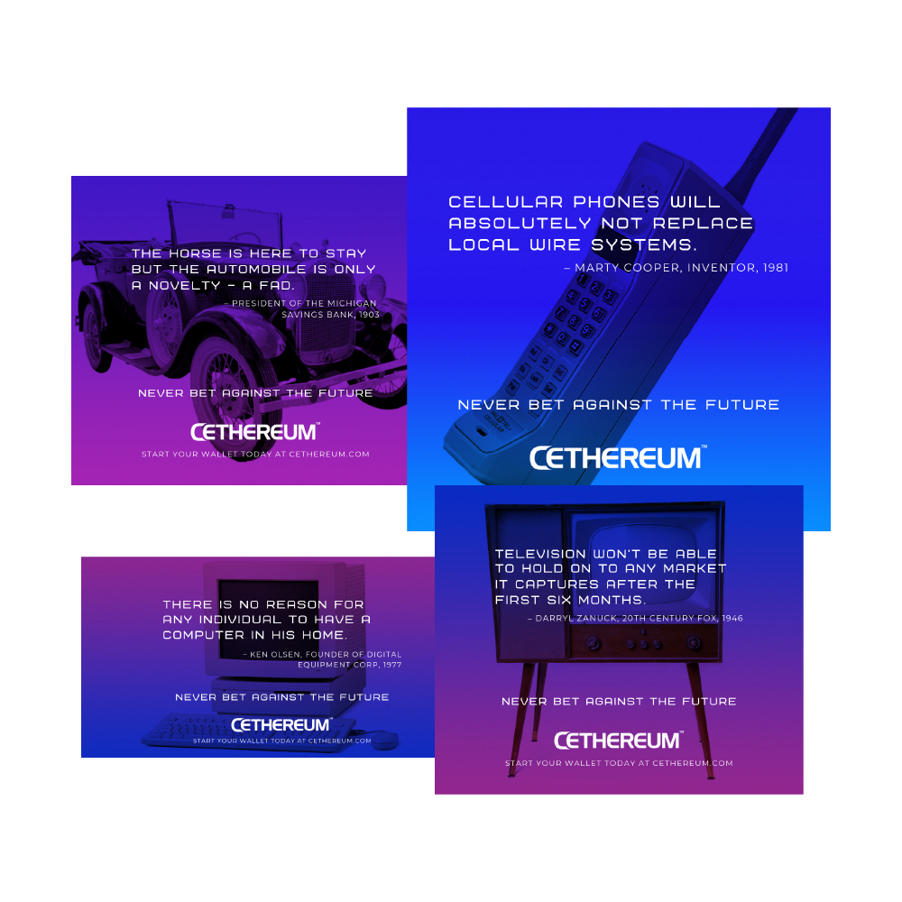 Cethereum concept and graphics